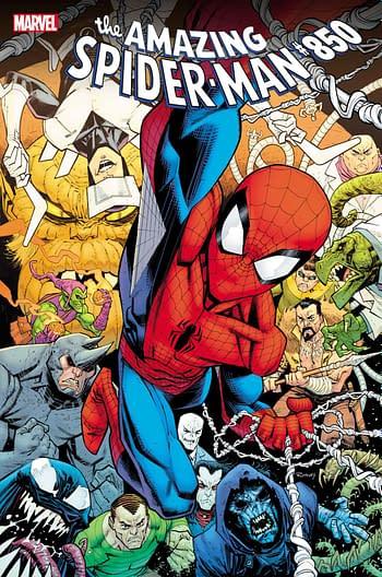 Norman Osborn Returns as the Green Goblin in Amazing Spider-Man #850.