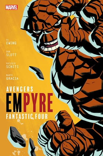Empyre #1 Fantastic Four Variant Cover