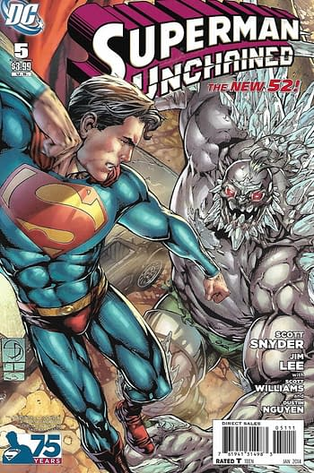 Superman Unchained #5 Shane Davis Variant Cover