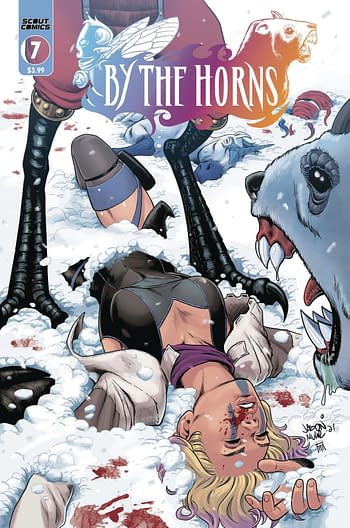 Cover image for BY THE HORNS #7 (MR)