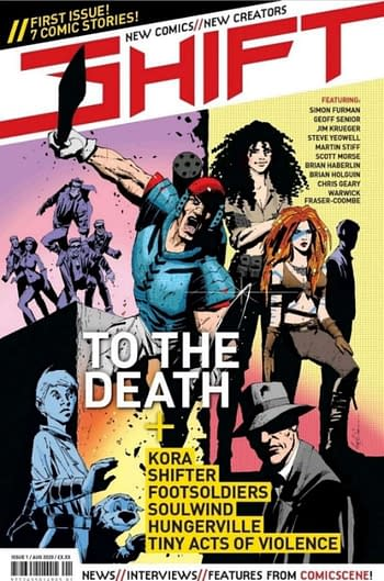 Shift - A New British Comics Newstand Anthology Launches