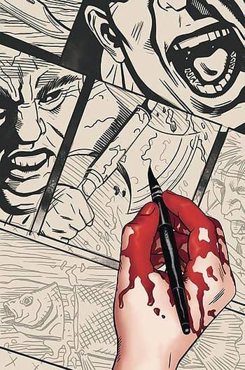 Cover image for SILENCE #1 (OF 3) CVR B MICHAEL GOLDEN (MR)
