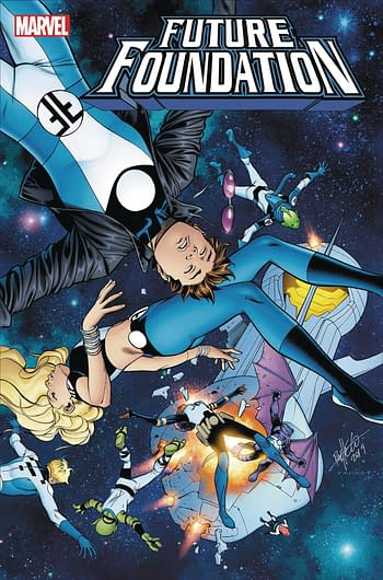 Marvel Comics to Cancel the Future Foundation