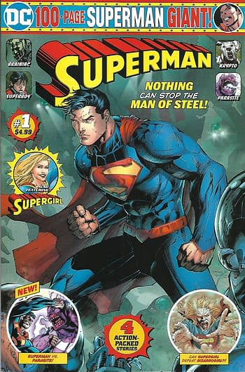 Superman Giant Volume 2 Launches, Plus What's to Come, DC Giants in Walmart for December