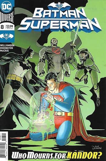 Batman Superman #8 Cover