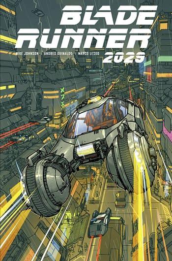 Cover image for BLADE RUNNER 2029 #9 CVR C PARR (MR)