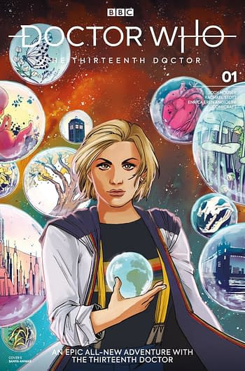 All 24 Covers to Doctor Who: The Thirteenth Doctor #1