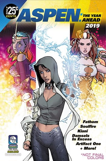 Aspen Teases the Return of Damsels In Excess in February 2019 Solicits