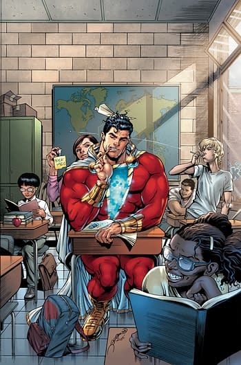 LATE: Shazam #1 Slips Into December – Will Christmas Issue Come Out in 2019?