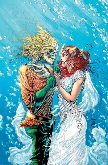Who's Getting Married in Aquaman #50 This Week? (Spoilers)
