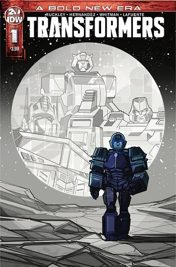 Second Printings for Transformers, Avengers and Punisher