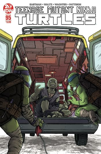 Speculators Corner: Will First Full Appearance Of Jennika the Teenage Mutant Ninja Turtle Be In #95 Second Printing?