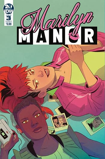 Cancellations for Marilyn Manor Suggests Problems For IDW and Black Crown