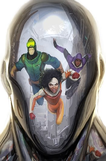 Catalyst Prime: Seven Days #1 From Gail Simone and Jose Luiz Gets FOC Today – With a Preview and Schedule