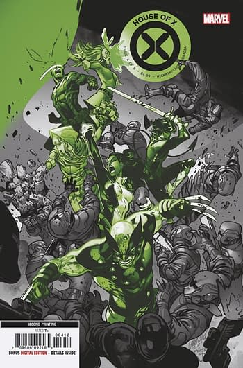 House Of X #1 and Powers Of X #1 go to Fifth Printings