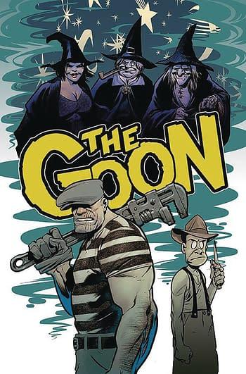 Mystery Steve Mannion Comic in Albatross Funnybooks 2020 Schedule.