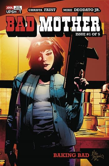 Mike Deodato Launches Bad Mother #1 in AWA August 2020 Solicits.