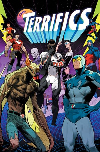 The Terrifics Cancelled, Last 4 Issues Digital-Only.