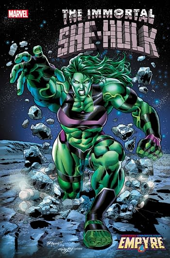 Marvel Comics Announce Immortal She-Hulk, Spinning Out of Empyre.
