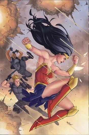 DC Previews Mariko Tamaki and Mikel Janin's Wonder Woman #759