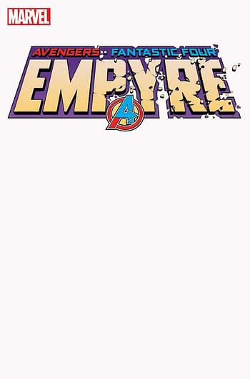 Empyre #1 Blank Variant Cover