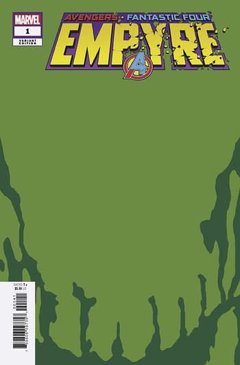Empyre #1 Skrull Green Variant Cover
