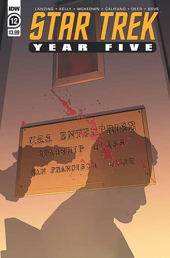Star Trek Year Five #12 Main Cover