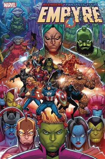 Champions, Power Pack, Empyre Handbook Get Rescheduled - Marvel MIA