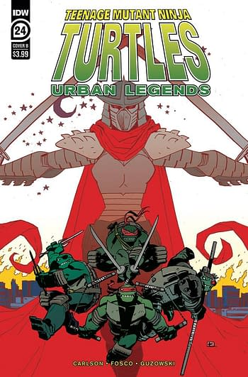 Teenage Mutant Ninja Turbles Urban Legends #24 Cover B