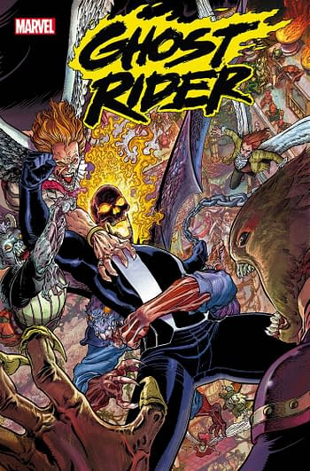 Marvel Comics Cancels Ghost Rider – Missing In Action Update