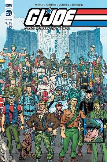 G.I. Joe A Real American Hero #273 Cover B