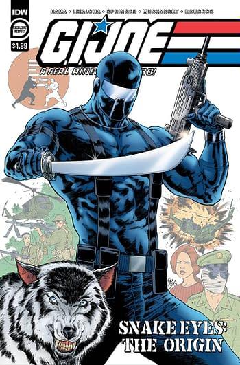 GI Joe A Real American Hero Snake Eyes Origin