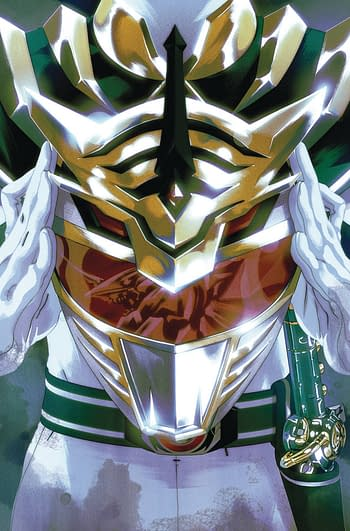 Mighty Morphin Power Rangers #52 Cover B