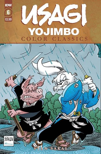 Usagi Yojimbo Color Classics #6 Cover