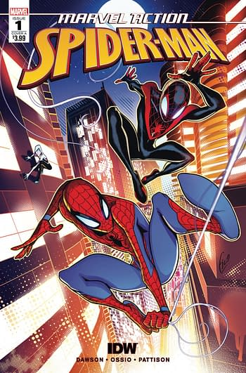 Did Marvel Comics Block Sina Grace From Writing IDW's Spider-Man?