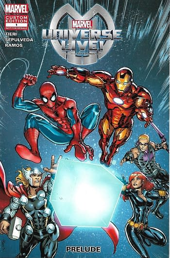 Marvel Universe LIVE! Prelude #1 Front Cover