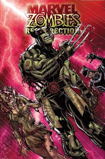 Marvel Zombies Resurrection #1 Bradshaw Variant Cover