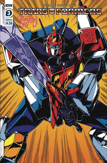 Transformers 84 Secrets & Lies #3 Cover A