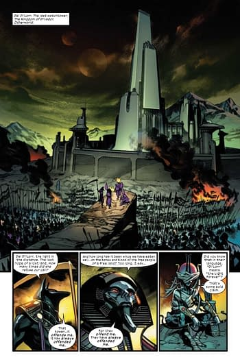 A page from X of Swords: Creation #1