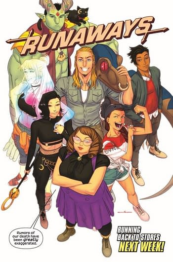 Surprise! Runaways #32 Returns Next Week In Comic Book Stores