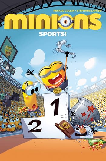 The Return Of Minions: Sports to Titan Comics March 2021 Solicits