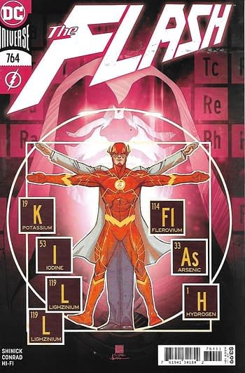 The Flash #764 Cover