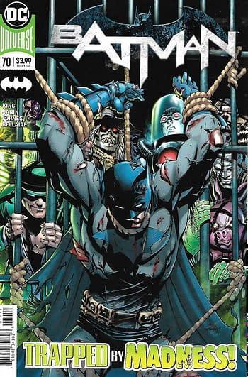 Batman #70 Cover