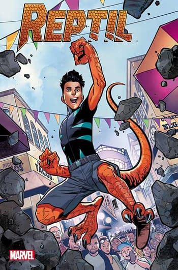 Reptil From Avengers Academy Gets His Own Series.