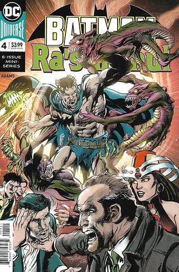 Batman Ra' Al Ghul #4 Main Cover