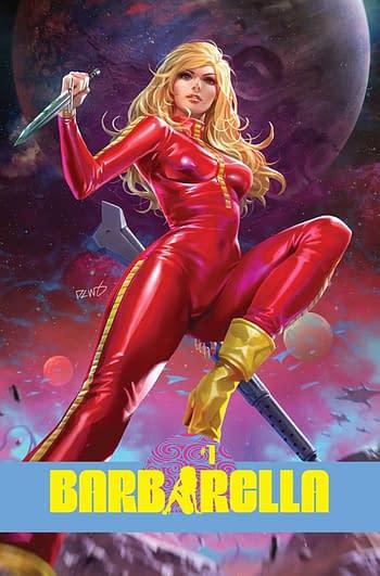 Sarah A. Hoyt Writes Barbarella #1 For Dynamite July 2021 Solicits