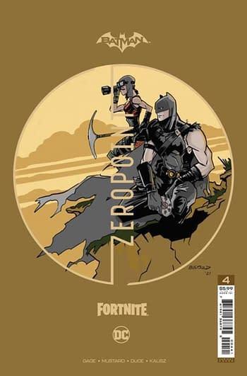 Lunar Gives Comic Shops Extra Chance to Order Batman/Fortnite #4