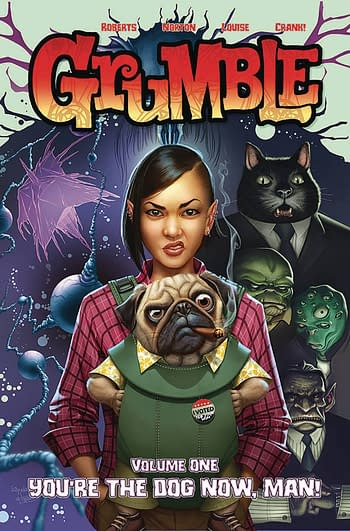 Cover image for GRUMBLE TP VOL 01 YOURE THE DOG NOW MAN (MAY191328)
