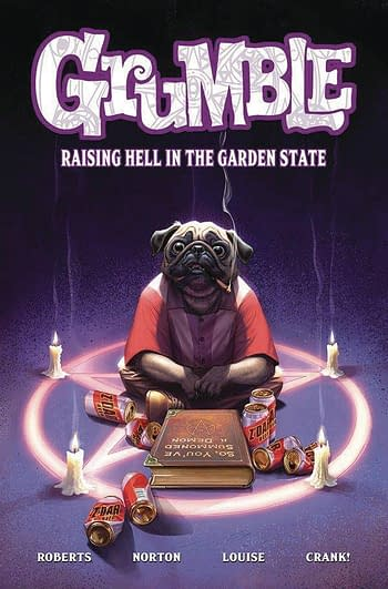 Cover image for GRUMBLE TP VOL 02 RAISING HELL IN GARDEN STATE (DEC191354) (