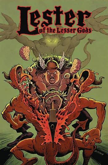 Cover image for LESTER OF THE LESSER GODS ONE SHOT CVR B KENDALL
